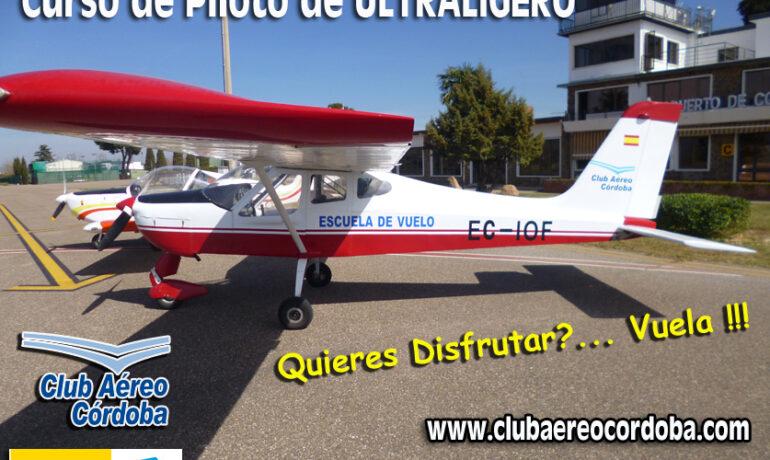 NUEVO CURSO DE PILOTO DE ULM Y DRONES